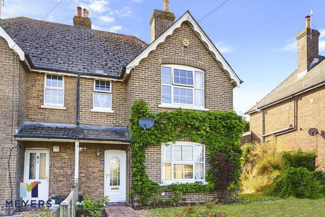 Thumbnail Semi-detached house for sale in Herrison Road, Charlton Down