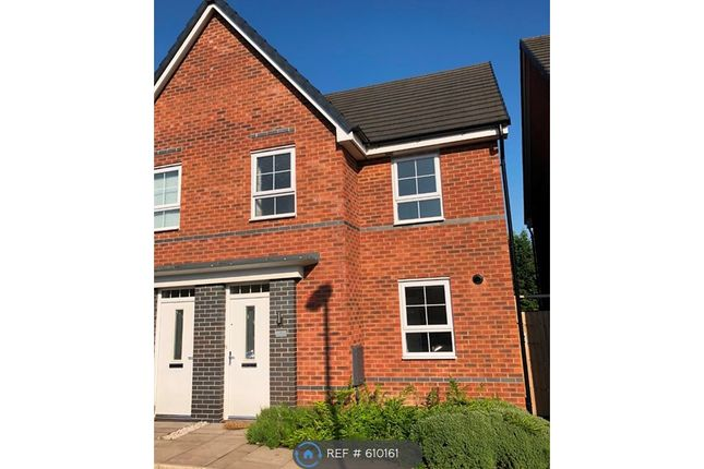 Thumbnail Semi-detached house to rent in Havilland Place, Stoke-On-Trent