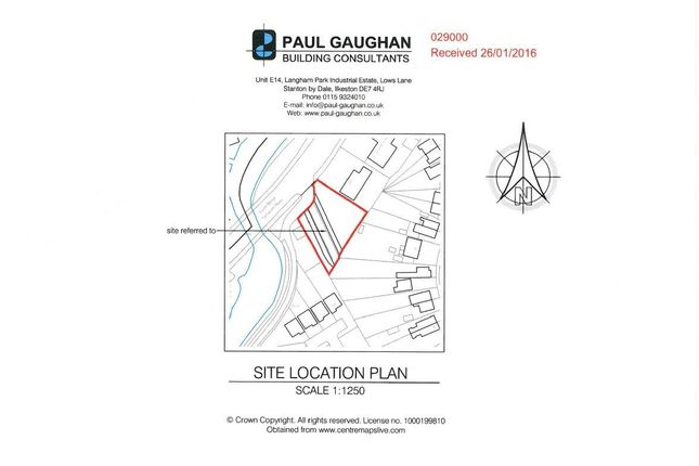 Thumbnail Land for sale in Tamworth Road, Long Eaton, Nottingham
