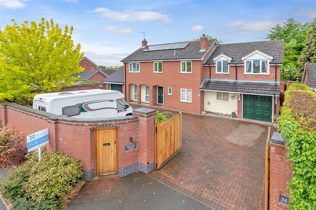 Thumbnail Detached house for sale in 34 Newtown, Baschurch, Shrewsbury