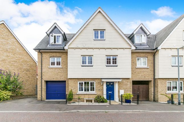 Thumbnail Link-detached house for sale in Cambie Crescent, Colchester