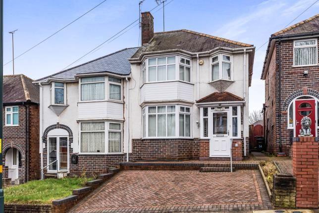 Thumbnail Semi-detached house for sale in Woolmore Road, Erdington, Birmingham, West Midlands