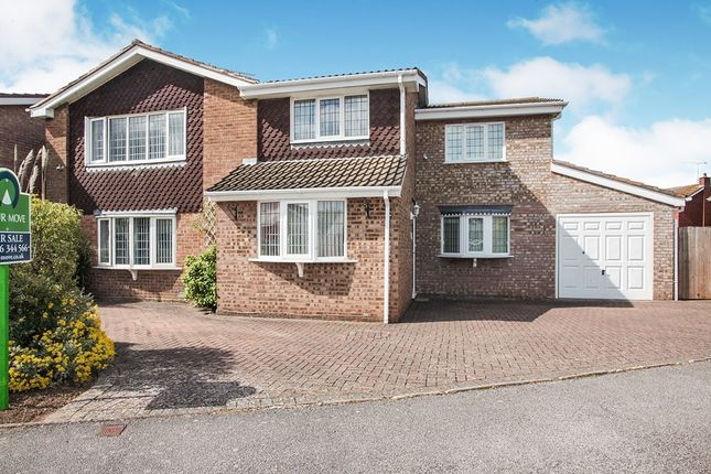 Thumbnail Detached house for sale in Ullswater Avenue, Nuneaton, Warwickshire