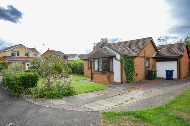 Thumbnail Detached bungalow for sale in Hayburn Close, Redcar