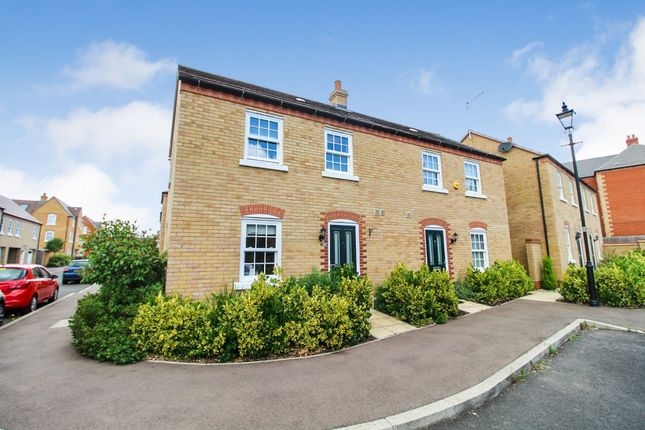 Thumbnail End terrace house to rent in Griffin Way, Kempston, Bedford