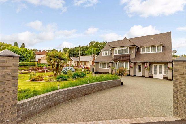 Thumbnail Detached house for sale in Bassaleg Road, Bassaleg, Newport