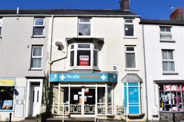 Thumbnail Flat to rent in Flat 1, Bryn Llewelyn, High Street, Tywyn, Gwynedd