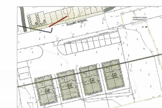 Site Plan of North Of Dinefwr Road, Garnant, Ammanford, Carmarthenshire. SA18
