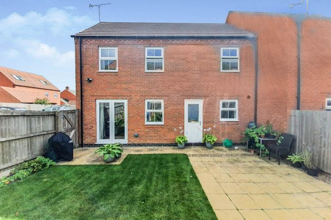 Thumbnail Terraced house for sale in Dairy Way, Kibworth Harcourt, Leicester