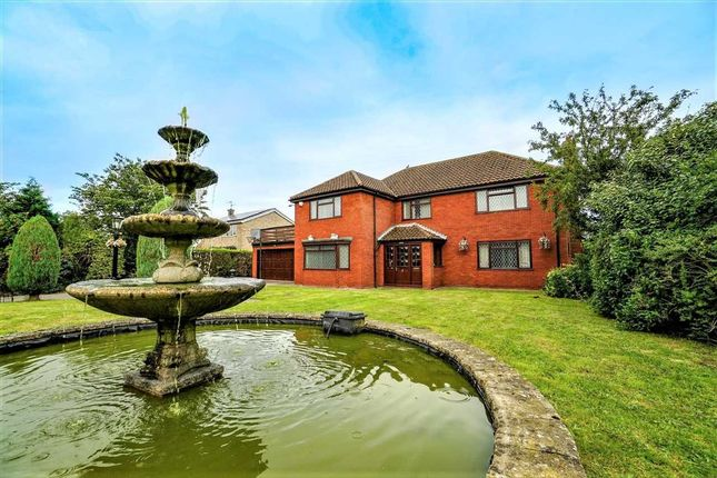 Thumbnail Detached house for sale in Woodlands, Louth Road, Wragby, Wragby, Market Rasen