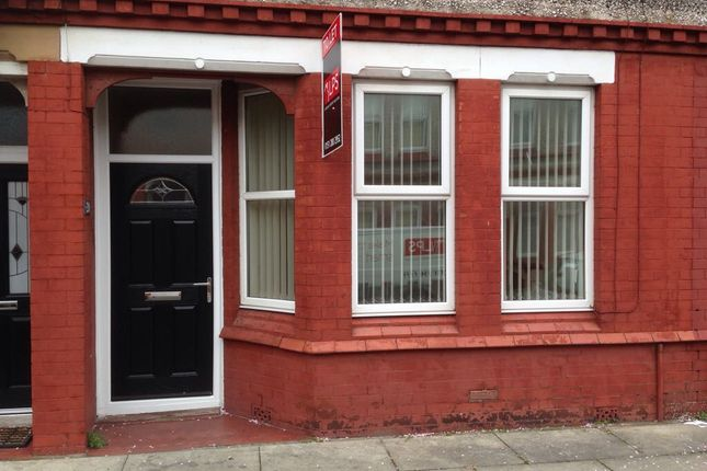 Thumbnail Terraced house to rent in Fairbairn Road, Waterloo, Liverpool