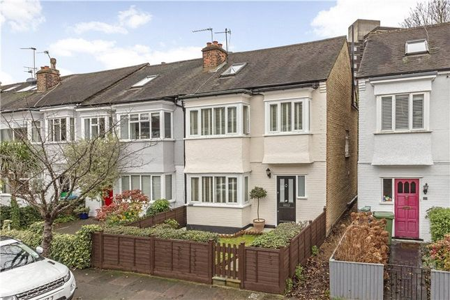 Thumbnail End terrace house for sale in Leconfield Avenue, London