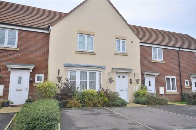 Thumbnail Terraced house to rent in Wharfside Close, Hempsted, Gloucester