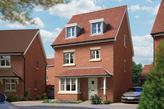 "Thumbnail Detached house for sale in ""The Wimborne"" at Archer's Way, Amesbury, Salisbury"