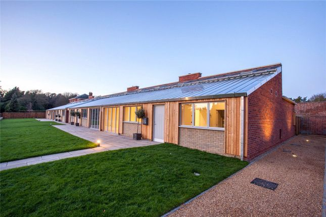 Thumbnail End terrace house for sale in Sudbourne Park, Orford, Woodbridge, Suffolk