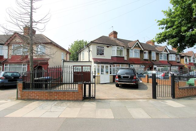 Thumbnail End terrace house for sale in Harrow Drive, London