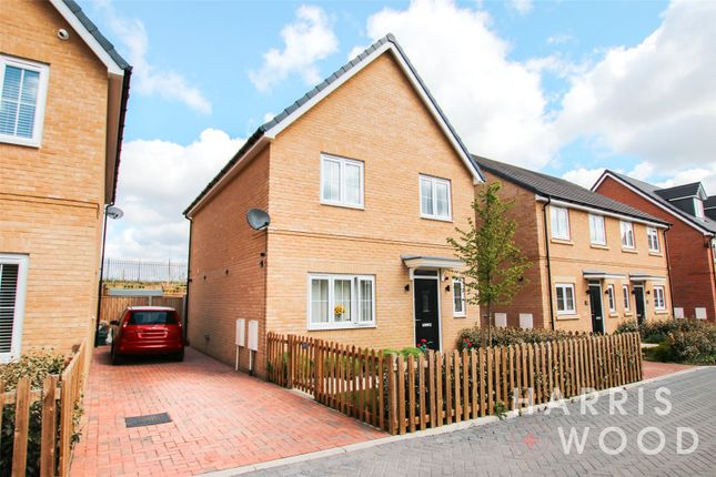 Thumbnail Detached house for sale in Finch Road, Stanway, Colchester
