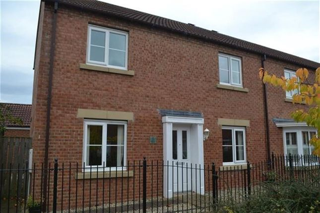 Thumbnail Semi-detached house to rent in Holderness Drive, Darlington