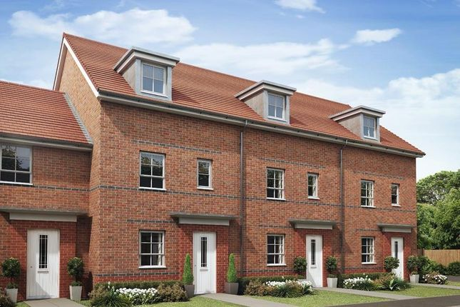 """Thumbnail Terraced house for sale in """"Woodcote"""" at Ponds Court Business, Genesis Way, Consett"""