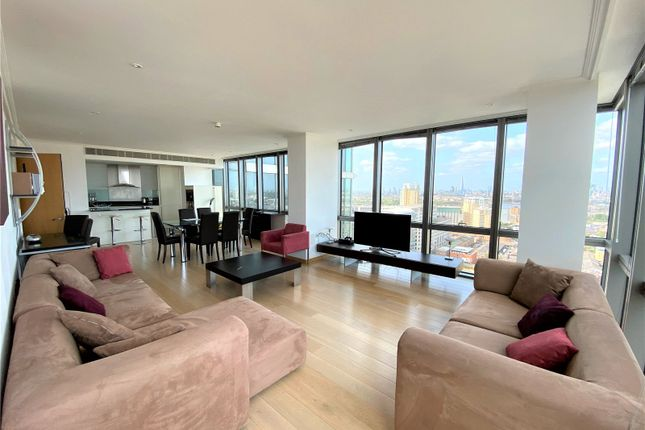 Thumbnail Flat to rent in 1, West India Quay