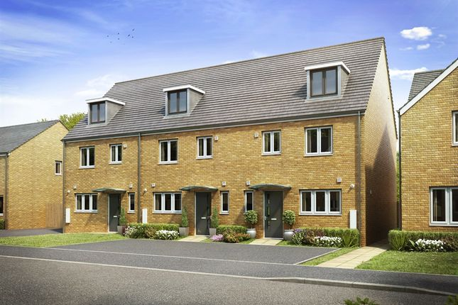 "Thumbnail Semi-detached house for sale in ""The Leicester "" at Brickburn Close, Hampton Centre, Peterborough"