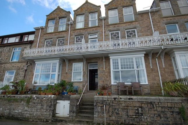 Thumbnail Flat to rent in Draycott Terrace, St. Ives, Cornwall