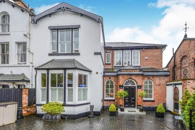 Thumbnail Semi-detached house for sale in The Croft, Fulwood Park, Aigburth