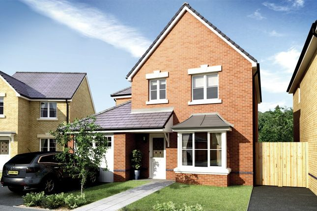 Thumbnail Detached house for sale in Bedwellty Field, Britannia Walk, Pengam, Blackwood