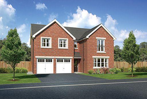 "Thumbnail Detached house for sale in ""Malborough"" at Kents Green Lane, Winterley, Sandbach"