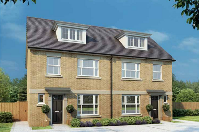 Thumbnail Town house for sale in Priory Mews, Tickford Street, Newport Pagnell, Buckinghamshire