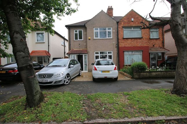 Thumbnail Semi-detached house to rent in Spring Grove Crescent, Hounslow, Greater London