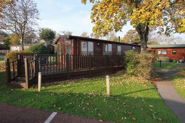 Thumbnail Mobile/park home for sale in Totnes Road, Paignton