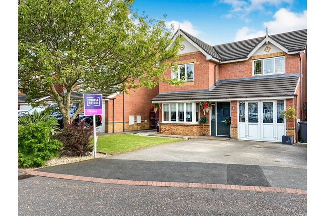 Thumbnail Detached house for sale in Shelley Court, Liverpool