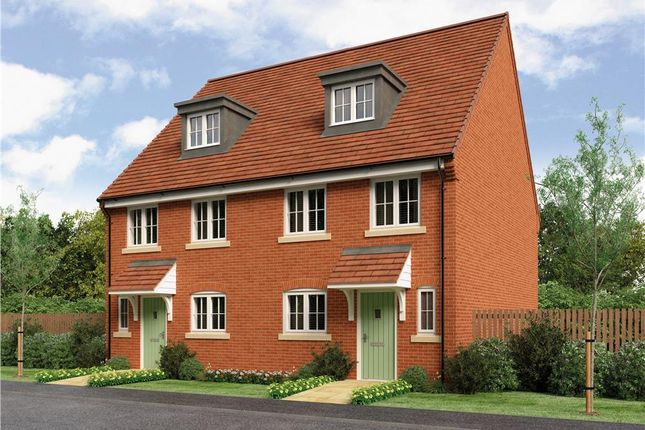 "Thumbnail Semi-detached house for sale in ""Auden"" at Gorsey Lane, Wythall, Birmingham"