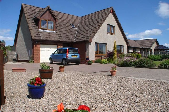 Thumbnail Detached house for sale in Mannochmore, By Elgin, Moray