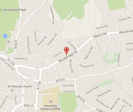 Woodbridge Road, Ipswich IP4, 2 Bedroom Terraced House To