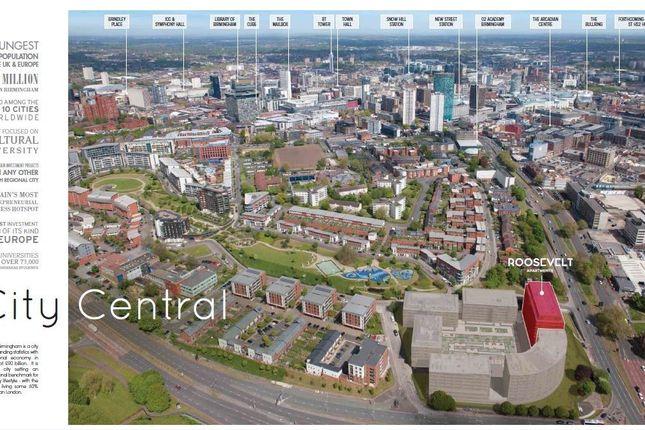 Thumbnail Flat for sale in Lexington Gardens, Birmingham