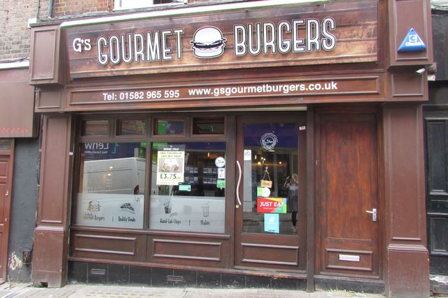 Thumbnail Restaurant/cafe to let in Wellington Street, Luton, Bedfordshire