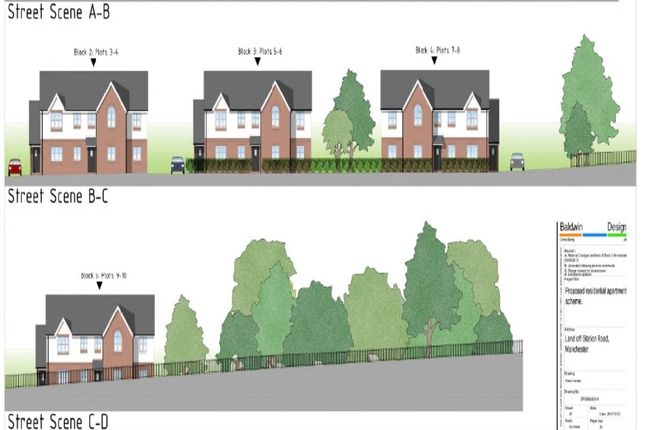 Thumbnail Land for sale in Kendal Road, Stretford, Manchester