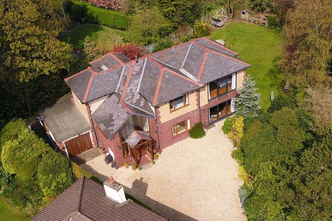 Thumbnail Detached house for sale in The Ridge, Lower Heswall, Wirral
