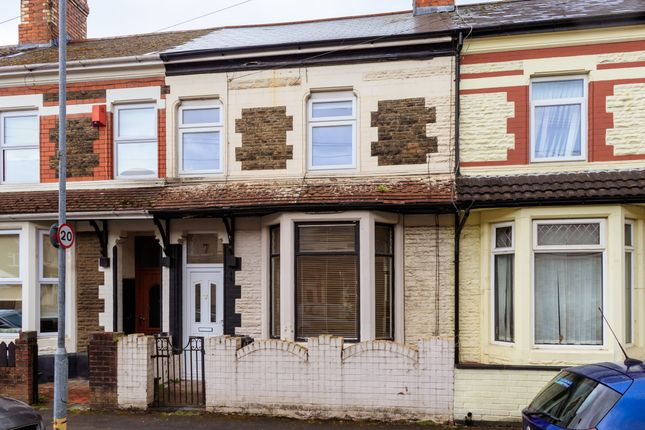 Thumbnail Terraced house for sale in Westmoreland Street, Cardiff