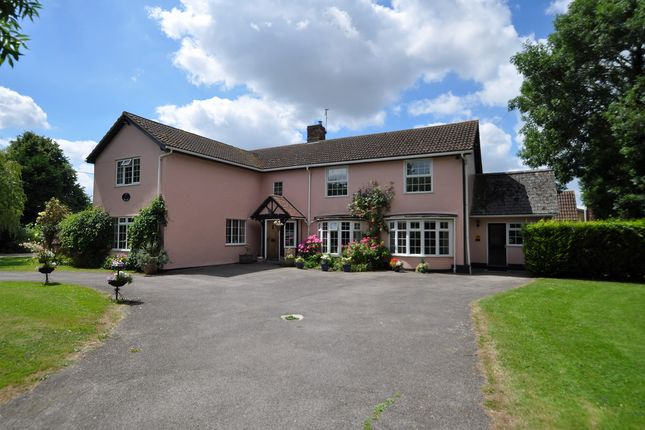 Thumbnail Detached house for sale in Middlewood Green, Earl Stonham, Stowmarket, Suffolk