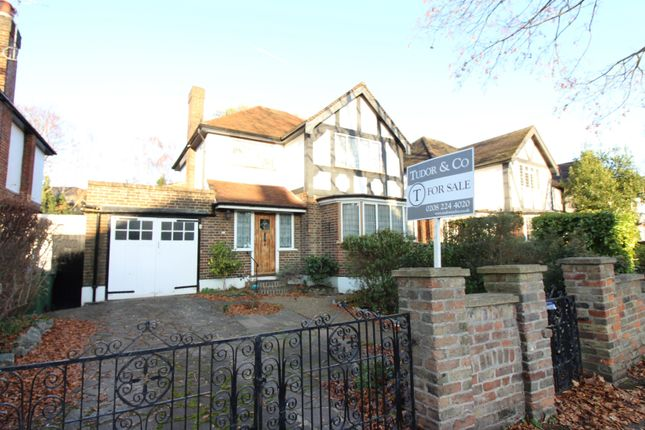 Thumbnail Detached house for sale in Hurst Road, East Molesey