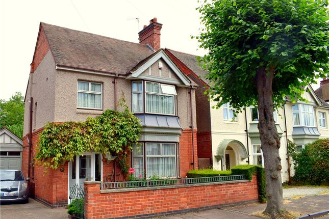 Thumbnail Detached House For Sale In Manor Park Road Nuneaton Warwickshire