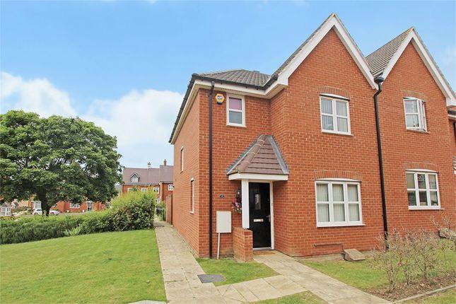 Thumbnail Semi-detached house for sale in Bushfield Court, Shortstown, Bedford
