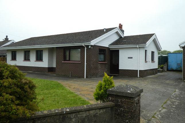 Thumbnail Detached bungalow for sale in Bwlchygroes, Llandysul