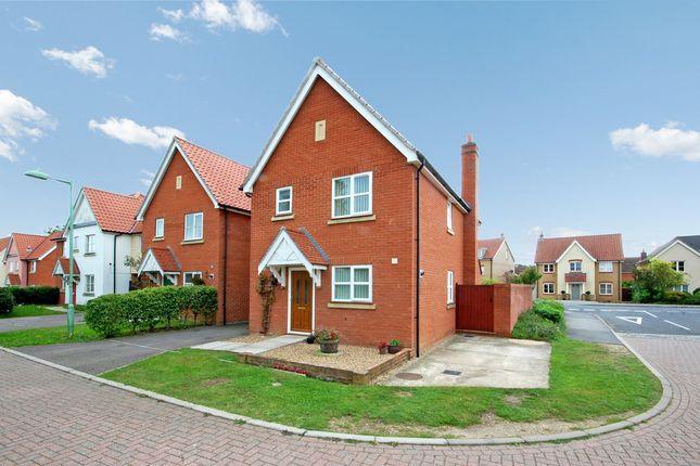 3 bed link-detached house for sale in Maple Close, Rendlesham, Woodbridge
