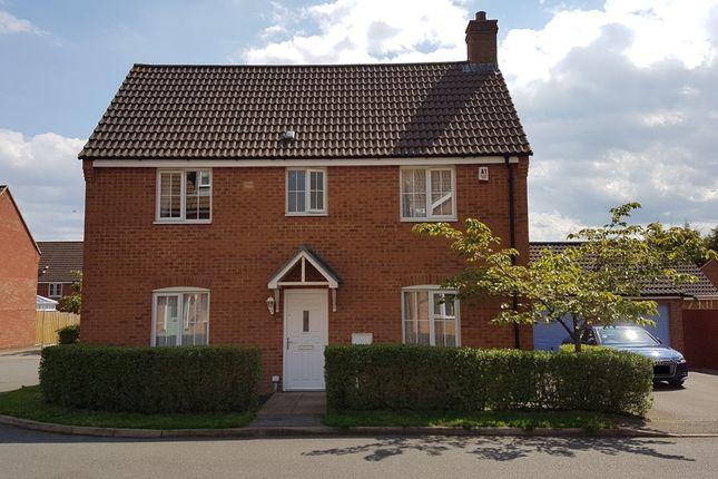 Thumbnail Detached house for sale in Thorneydene Gardens, Grantham