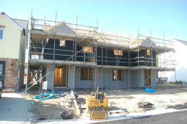 Thumbnail Semi-detached house for sale in Plot 3A Wheal Rose, Roche Road, Bugle, Cornwall