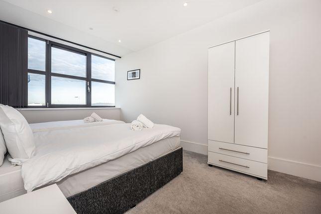 Bedroom of West Gate, London W5